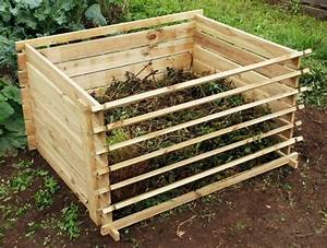 Komposter Holz Selber Bauen : 50 ideen zum thema komposter selber bauen ~ Frokenaadalensverden.com Haus und Dekorationen
