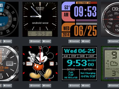 install custom  faces  android wear cnet