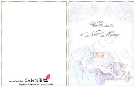 modele de carte de mariage a imprimer gratuit mariage carte d invitation mariage a imprimer