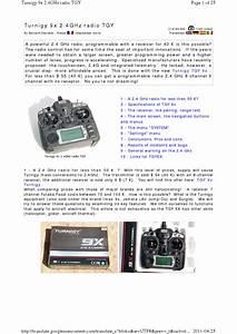 Turnigy 9x 2 4ghz Radio Tgy User Manual
