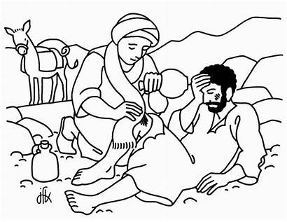 Samaritan Coloring Pages Printable