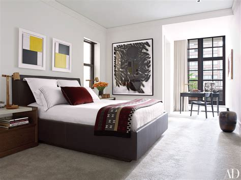 holly hunt furnishes  guest bedroom   chicago