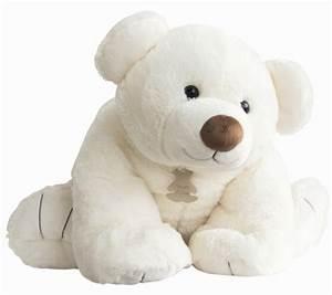 Gros Nounours En Peluche : histoire d ours peluche gros ours ecru 90 cm ~ Teatrodelosmanantiales.com Idées de Décoration