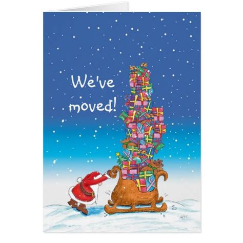 Personalized free and great prices. We've moved - Moving Announcement for the Holidays ...