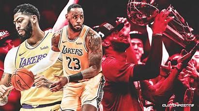 Lebron Lakers Davis Anthony James Championship Ranks