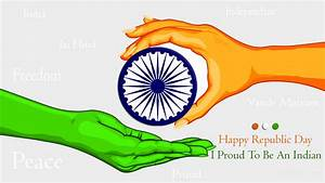 Proud To be An India Hd Wallpaper Happy Republic Day,26 ...