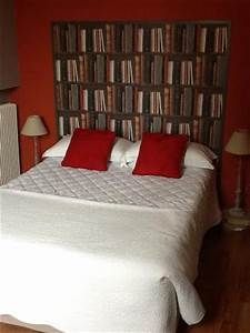 Tte De Lit Bibliothque Chambre 8 Photo De Hotel La
