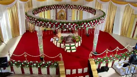 hindu wedding stage decoration  trivandrum rdr