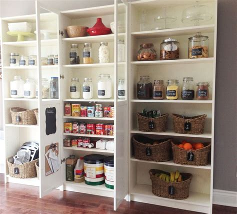 diy pantry using ikea billy bookcases ikea hacks and