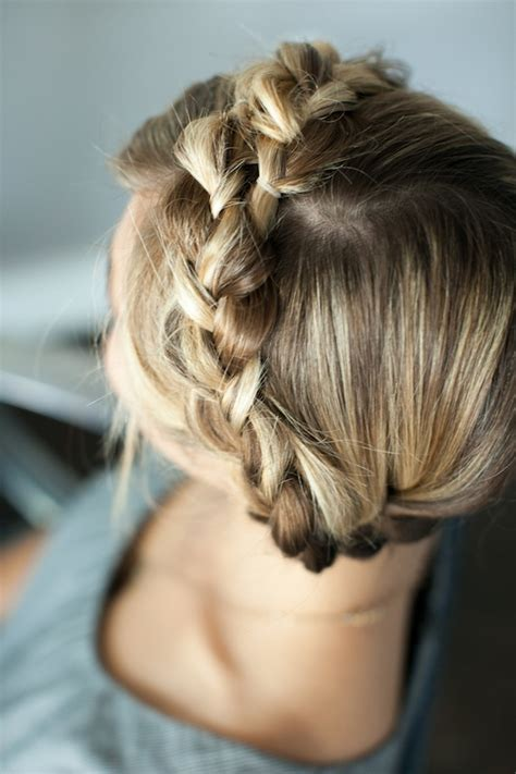 hair styles for teenagers pretty simple braided crown camille styles 2912