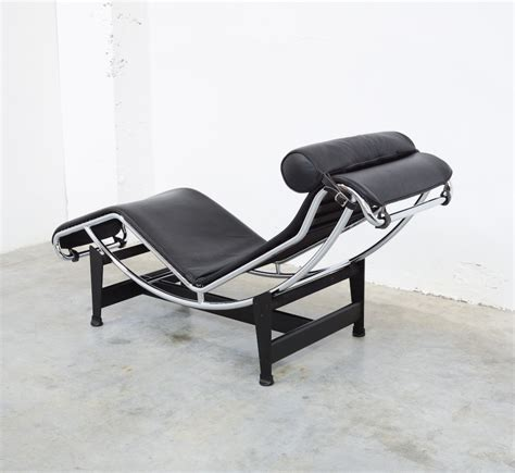 chaise lc4 chaise longue lc4 by le corbusier for cassina vintage
