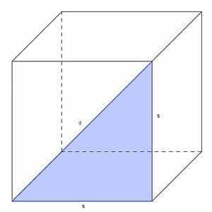 Oberfläche Eines Würfels Berechnen : fl chendiagonale eines w rfels ~ Themetempest.com Abrechnung