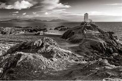Landscape Wales Lake Scotland District Bw North