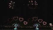 480秒大稻埕煙火搶先看!夜空綻放「粉紅愛心」超浪漫   女孩   三立新聞網 SETN.COM