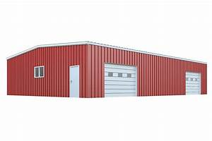 50x60 metal building package quick prices general steel With 50 x 60 steel building
