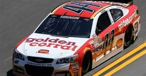 Reed Sorenson Raced The #44 Golden Corral Chevy In The