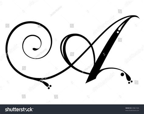 letter script stock vector  shutterstock