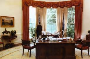 President Ronald Reagan Oval Office