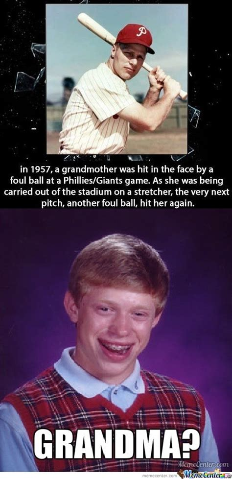 Grandmother Meme - bad luck brian s grandmother by m1sa meme center