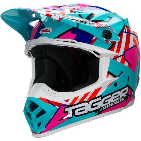 used motocross helmets bell moto 9 tagger trouble motocross helmet motocross