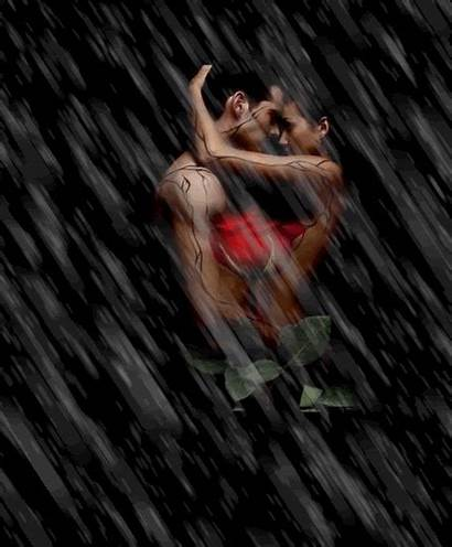 Couple Romantic Gifs Rain Gifts Cocker Joe