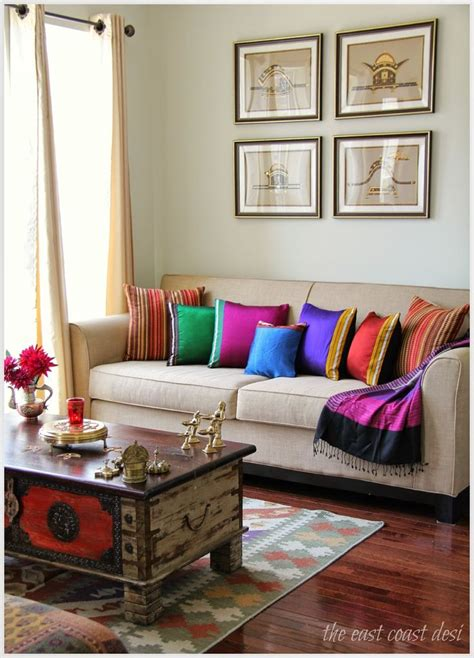 Colorful Indian Homes  Interiors, Living Rooms And Room