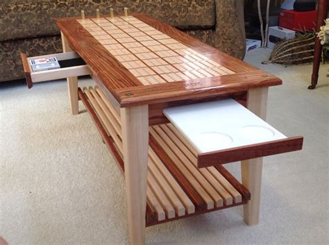 cribbage board coffee table coffee tables cribb