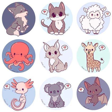 pin  bianka bohm  cutefunny cute animal drawings