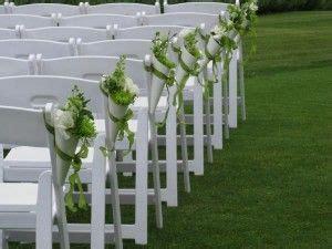 idees de decoration pour  mariage en exterieur une