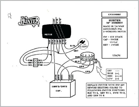 ceiling fan chain switch wiring diagram typical