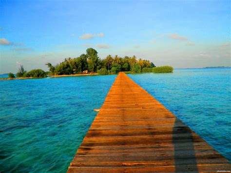 liburan  pulau tidung virggirl