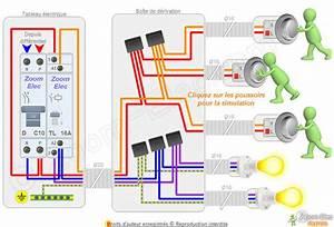 Cablage Bouton Poussoir : interrupteur poussoir branchement ~ Nature-et-papiers.com Idées de Décoration