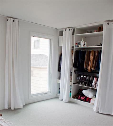 Vorhang Für Schrank by Begehbarer Kleiderschrank Wohnideen Einrichten