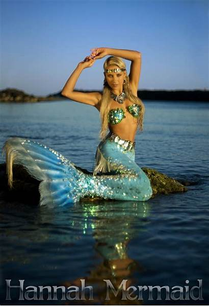 Mermaid Hannah Mermaids Professional Tails Emilia Clarke