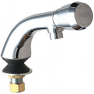 chicago faucets faucet metering push   mnpsm
