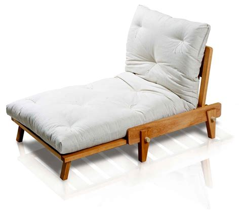 poltrona letto futon poltrona letto relax yasumi legno a incastri con futon