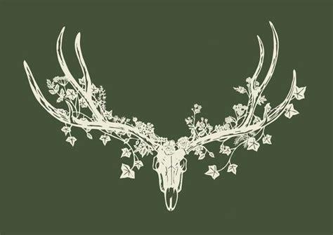 Love This Beautiful Yet Dark Art Print Deer Skull