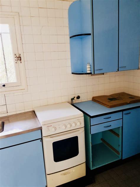 cuisine vintage formica meuble cuisine complète formica vintage bon état les