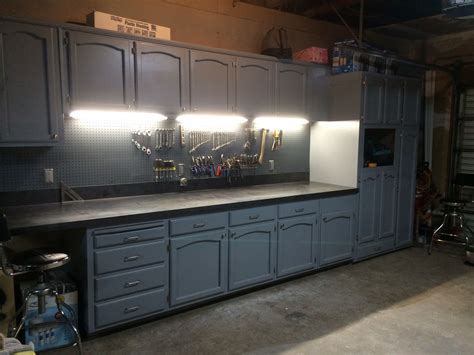 refurbished kitchen cabinets   ultimate work bench