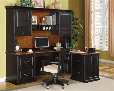 2 piece l shaped desk 3 piece l shaped desk set in two tone finish by coaster