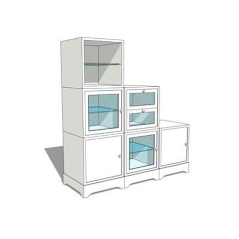 sketchup kitchen design modular bathroom storage units 3d model formfonts 3d 3875