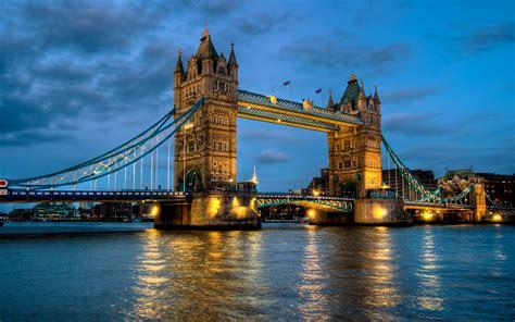 England, Landscape, Architecture, Nature, Tower Bridge, Uk