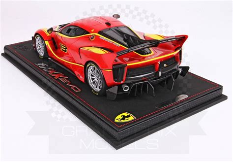 Bburago 1:18 signature series ferrari fxx k fxxk evo diecast model car white nib. Ferrari FXX-K Evo #13 Red 1:18 by BBR