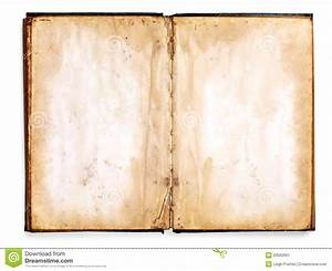 Old Blank Book Stock Image - Image: 23562691