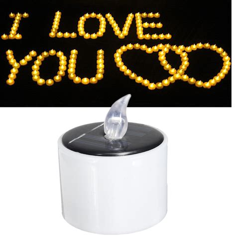 other gadgets solar powered led candle battery wedding