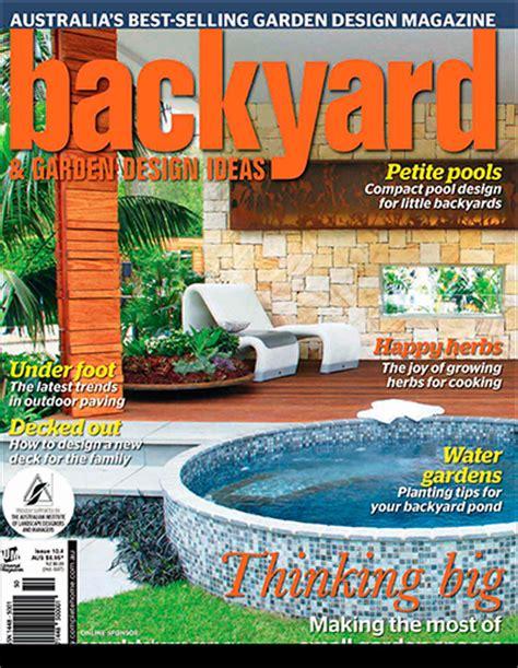 Backyard & Garden Design Ideas Magazine