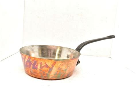williams sonoma mauviel french copper tin pan pot france  nice  sale