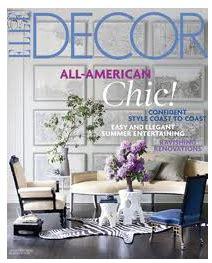 decor magazine subscription 4 50 year