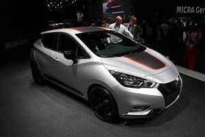 Voiture Nissan Micra : nissan micra 5 franco japonaise vid o en direct du mondial de l 39 auto ~ Nature-et-papiers.com Idées de Décoration