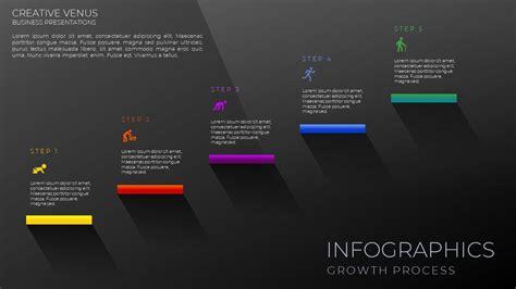 create business flowchart infographic design
